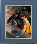 Movie/TV Memorabilia:Autographs and Signed Items, Adam West Signed Batman Photo....