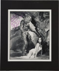 Movie/TV Memorabilia:Autographs and Signed Items, Julie Adams Signed Creature from the Black Lagoon Photo....
