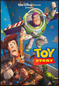 "Movie Posters:Animated, Toy Story Lot (Buena Vista, 1995). One Sheet (27"" X 40"") DSAdvance. Animated.. ... (Total: 2 Items)"