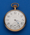 Timepieces:Pocket (post 1900), Hampden, 16 Size, William McKinley. ...