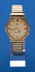 Timepieces:Wristwatch, Bulova 218, 14k Gold Accutron. ...