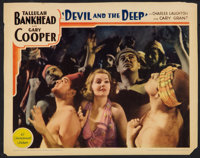 "Devil and the Deep (Paramount, 1932). Lobby Card (11"" X 14""). Drama"