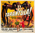 "Movie Posters:Science Fiction, Tarantula (Universal International, 1955). Six Sheet (81"" X 81"")....."