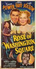 "Movie Posters:Musical, Rose of Washington Square (20th Century Fox, 1939). Three Sheet(41"" X 81"") Style B.. ..."