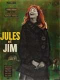 "Movie Posters:Romance, Jules and Jim (Les Films du Carrosse, 1961). French Grande (47"" X63"").. ..."