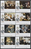 """Movie Posters:Crime, The Sting (Universal, 1974). Lobby Card Set of 8 (11"""" X 14"""").Crime.. ... (Total: 8 Items)"""
