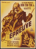 "Movie Posters:Adventure, The Test (Francinex, 1947). French Affiche (23"" X 31""). Adventure....."