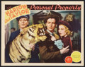 """Movie Posters:Romance, Personal Property (MGM, 1937). Lobby Card (11"""" X 14""""). Romance.. ..."""