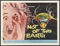 "Movie Posters:Science Fiction, Not of this Earth (Allied Artists, 1957). Half Sheet (22"" X 28"").Science Fiction.. ..."