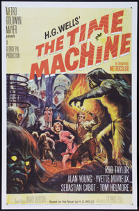 """The Time Machine (MGM, 1960). One Sheet (27"""" X 41""""). Science Fiction"""