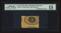 Fractional Currency:First Issue, Fr. 1230 5¢ First Issue Misalignment Error PMG Choice Fine 15.. ...