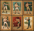 Boxing Cards:General, 1911 T9 Turkey Red Prizefighters Complete Set (26)....