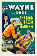 "Movie Posters:Western, The Man from Monterey (Warner Brothers - First National, 1933). OneSheet (27"" X 41"").. ..."
