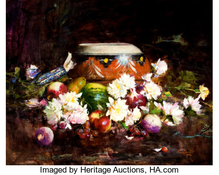 PROPERTY OF A PROMINENT TEXAS COLLECTORCYRUS AFSARY (American, b.1940)Indian SummerOil on canvas24 x 30 inches...