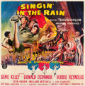 "Movie Posters:Musical, Singin' in the Rain (MGM, 1952). Six Sheet (81"" X 81"").. ..."