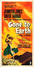 "Movie Posters:Drama, Gone to Earth (London Films, 1950). British Three Sheet (40.5"" X78.75"").. ..."