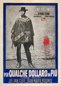 "Movie Posters:Western, For a Few Dollars More (PEA, 1966). Italian 4 - Foglio (55"" X 78"") Style B.. ..."