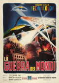 "Movie Posters:Science Fiction, The War of the Worlds (Paramount, 1956). Italian 4 - Foglio (55"" X78"").. ..."