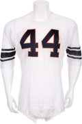 Football Collectibles:Uniforms, 1961 Ernie Davis Game Issued Syracuse Orangemen Jersey, Heisman Trophy Season....