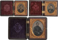 Photography:Ambrotypes, Civil War Soldier and Friends. ... (Total: 3 Items)