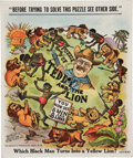 Political:Miscellaneous Political, Theodore Roosevelt: Safari-Themed Mechanical Puzzle....
