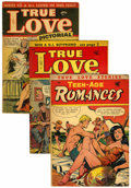 Golden Age (1938-1955):Romance, Miscellaneous Golden Age Romance Group (Various Publishers,1952-54).... (Total: 6 Comic Books)