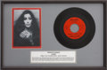 "Music Memorabilia:Recordings, Cher ""Ringo, I Love You/Beatle Blues"" Rare 45 Display...."