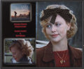 Movie/TV Memorabilia:Costumes, Charlize Theron's Costume Ribbon and Locket from The Cider House Rules....