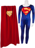 Movie/TV Memorabilia:Costumes, Superman Costume Used in the Production of Lois & Clark-TheNew Adventures of Superman (1994).... (Total: 2 )