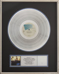 Music Memorabilia:Awards, The Eagles Hotel California RIAA Platinum Album Award....