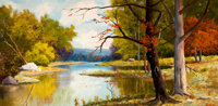 PROPERTY OF A PROMINENT TEXAS COLLECTOR  ROBERT WILLIAM WOOD (American, 1889-1979) Autumn Day