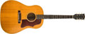 Musical Instruments:Acoustic Guitars, 1966 Gibson J-50 ADJ Natural Guitar, #330959....