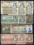 Canadian Currency: , Canadian $44 Face.. ... (Total: 30 notes)