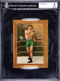 Boxing Cards:General, 1910-11 T9 Turkey Red Terry McGovern #70 BVG VG 3....