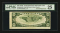 Error Notes:Inverted Reverses, Fr. 2008-B $10 1934C Wide Federal Reserve Note. PMG Very Fine 25.....