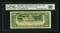 Error Notes:Inverted Reverses, Fr. 2061-B $20 1950B Federal Reserve Note. PMG Very Fine 30.. ...