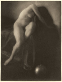 EDWARD STEICHEN (American, 1879-1973) In Memoriam, from Camera Work Vol. SS Page 19, 1906 Photogravu
