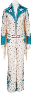 Movie/TV Memorabilia:Autographs and Signed Items, Ann-Margret's Rhinestone Cowgirl Costume by Bob Mackie....