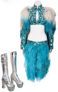 Music Memorabilia:Costumes, Cher Vintage Stage-Worn Ringling Bros. Circus Costume.... (Total: 4 )