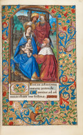 """Books:Early Printing, [Book of Hours]. [Jean Pichore and Jean Poyet]. The """"Astor-Aubéryde Frawenberg"""" Hours. Use of Toul. [France, probably Paris..."""