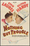 "Movie Posters:Comedy, Nothing But Trouble (MGM, 1945). One Sheet (27"" X 41""). Comedy....."