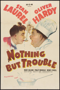 """Nothing But Trouble (MGM, 1945). One Sheet (27"""" X 41""""). Comedy"""