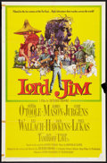"Movie Posters:Adventure, Lord Jim Lot (Columbia, 1965). One Sheets (2) (27"" X 41"") Style Aand Half Sheets (2) (27"" X 41""). Adventure.. ... (Total: 4 Items)"