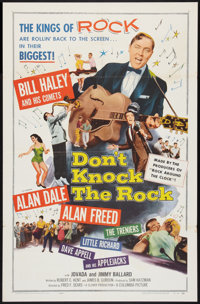"Don't Knock the Rock (Columbia, 1957). One Sheet (27"" X 41""). Rock and Roll"