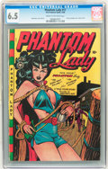 Golden Age (1938-1955):Superhero, Phantom Lady #17 (Fox Features Syndicate, 1948) CGC FN+ 6.5 Cream to off-white pages....