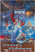 Memorabilia:Poster, Transformers TV Series Poster (Sunbow Productions, Inc., 1984)....