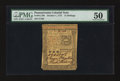 Colonial Notes:Pennsylvania, Pennsylvania October 1, 1773 15s PMG About Uncirculated 50.. ...