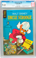 Bronze Age (1970-1979):Cartoon Character, Uncle Scrooge #89 (Gold Key, 1970) CGC VF/NM 9.0 Off-whitepages....