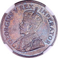 "South Africa, South Africa: George V ""Trial Strike"" bronze Farthing 1936,..."