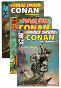 Magazines:Adventure, Savage Sword of Conan and Related Titles Group (Marvel, 1974-77) Condition: Average VF+.... (Total: 11 Comic Books)